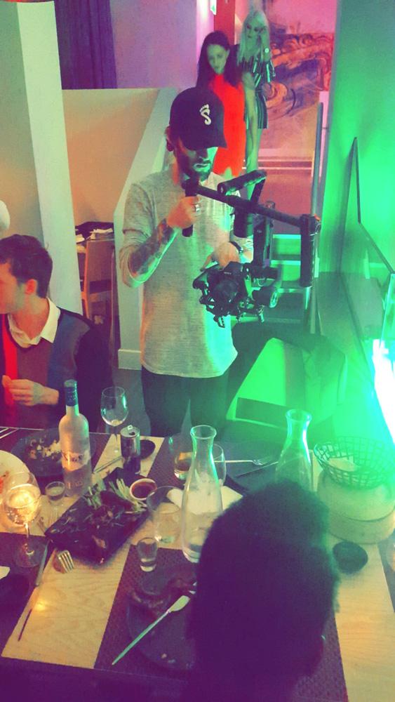 filming with jamie luke